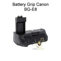 Battery Grip BG-E8 for Canon 550D/600D/ 650D/700D + free 1 pcs LPE8