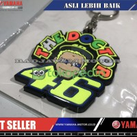 GANTUNG KUNCI THE DOCTOR FACE ROSSI VR46 ASIA ASLI YAMAHA LIMITED