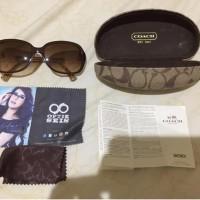 keren sunglass kacamata wanita hitam Coach original like new