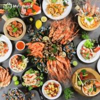International & Seafood Buffet Dinner at Baiyoke Sky Hotel (Dewasa)