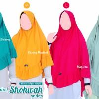 Jilbab instan khair. Bahan kaos , adem, dan nyaman. Harga sesui ukuran