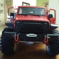 RC Adventure Jeep Wrangler Rubicon 4 Pintu New Axial SCX ii - RTR