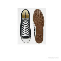 sepatu sekolah murah converse original warna hitam putih