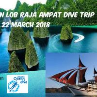 Raja Ampat LOB Dive Trip 16 - 22 Mar 2018