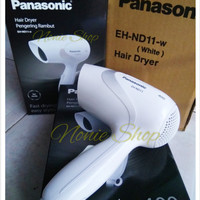 Panasonic Hair dryer EH ND11 ( biru / putih )