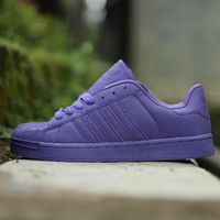 Free Sandal !!! sepatu sport Adidas Superstar women impor quality