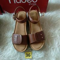 Sz 36 sandal wedges cantiq branded merk Fladeo