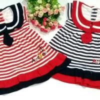 Dress Bayi / Rok Bayi Sailor Garis / Setelan Baju Bayi Perempuan
