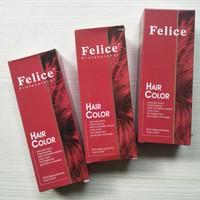 Harga felice professional hair colour pewarna rambut cat | Pembandingharga.com
