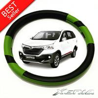Cover Stir / Sarung Ster Stir Mobil Daihatsu Xenia Hijau