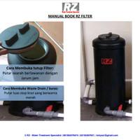 Pilihan Filter Kolam Ikan Koi Eksternal terbaik jenis Biofilter RZ1