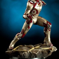 Murahhh...Hot Toys Sideshow Iron man Mark42 MAQUETTE mark 1/6