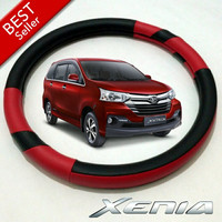 Cover Stir / Sarung Ster Mobil Daihatsu Xenia Merah