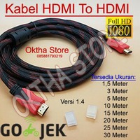 KABEL HDMI TO HDMI 5 METER HIGHT QUALITY & HIGHT SPEED
