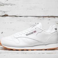 sepatu Reebok original Classic Leather white 49799