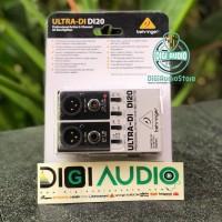 BEHRINGER DI 20 2 Channel DI BOX / Direct Box Guitar / Bass / Keyboard