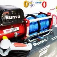 Runva RED Edition Winch EWX 9500 Q Synthetic Rope Plasma kapasit