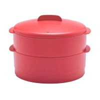 Tupperware Steam It Red Peralatan