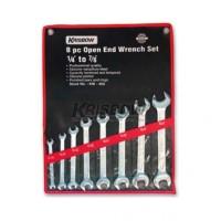 Great ! Kunci Pas - Open End Wrench Set 1-4-7-8Inc 8Pcs  Krisbow