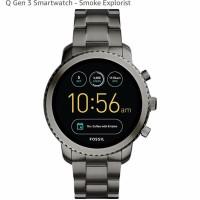 PO Fossil Q Gen 3 Smartwatch Smoke Explorist