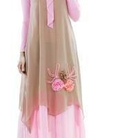 HS Gamis Muslimah Casual Wanita 342-31 Real Pict -New Trend!