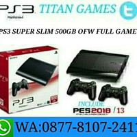 PS3 SUPER SLIM 500GB OFW FULL GAME REFURBISHED BY SONY