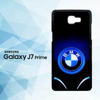 Casing Samsung Galaxy J7 Prime BMW Blue Logo X5027