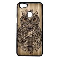 Case Casing OPPO F5 Case Hardcase Motif Burung Hantu Kayu Owl Wood