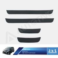 New Agya 2017 Sillplate Samping Hitam JSL Mobil/Scuff Plate Black