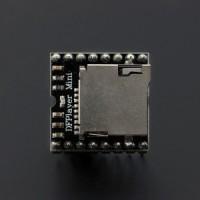 Modul MP3 Player Mini Musik Lagu atau suara pakai MicroSD Arduino