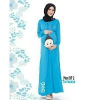 Eksklusif!! Baju ibu hamil model maxi dress BP2/ gamis / long Limited