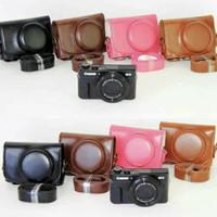 Leather Case Camera Canon Powershot G7X atau G7X Mark 2