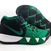 HOT SALE !! Sepatu Basket Nike Kyrie 4 Green Black Replika Impor