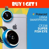 PROMO Lensa Kamera HP Super Fish Eye Polaroid CF238 (Buy 1 Get 1)