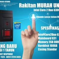 KOMPUTER MURAH UNBK C2D 6300 + G31