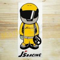 Sticker Honda JS Racing Helmet