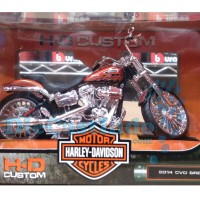 Jual Maisto Harley Davidson CVO Breakout 2014 Skala 1:12 Murah