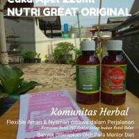 Cuka Apel Nutri Great 220ml Original Mudah & Aman untuk di Perjalanan