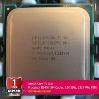 Intel Core 2 Duo Processor E8400 6M Cache 3 0 GHz 1333 MHz FSB