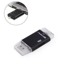iFlash Lightning USB OTG Card reader Untuk transfer data iPhone