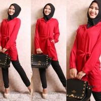 Setelan Wanita Baju Hijab Farah Set 3in1