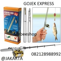FISHING ROD in PEN CASE, Joran Mini / Pancingan Saku ( As Seen On Tv)