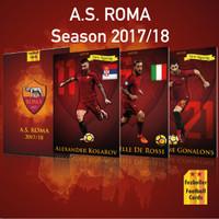 AS Roma season 2017/2018 fezballer Cards Kartu Bola Reguler Edition