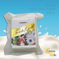 HARGA MURAH Yummy Fetah Goat Cheese 250 gr