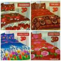 Raisha Collection Sprei single bonita ukuran 120 motif bola dan.anak