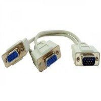 VGA Y Cable percabangan VGA menjadi 2 VGA Model CB2584 Komputer Murah
