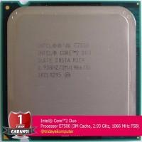 EXCLUSIVE PROCESSOR INTEL Core 2 Duo E7500 2 93Ghz LGA 775 TERJAMIN