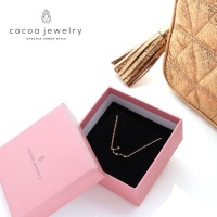 [Kalung Zodiak] (Cancer : 22 Juni - 23 Juli) Cocoa Jewelry Star Rose