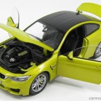 1/18 PARAGON BMW M4 COUPE KUNING DIECAST MINIATUR MOBIL NOT AUTOART