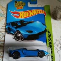 Hot Wheels Hotwheels Lamborghini Aventador J Blue